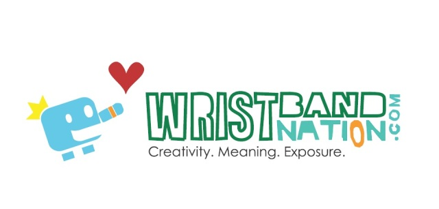 Wristband Nation Logo (With Mr. King)
