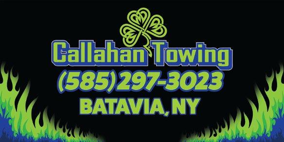 callahan towing banner